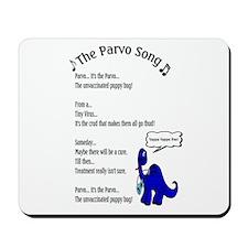 The Parvo Song Mousepad