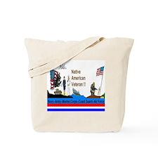 Native_American_Veterans Tote Bag