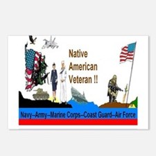 Native_American_Veterans Postcards (Package of 8)