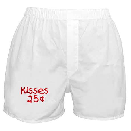 Funny Valentine Kisses Boxer Shorts