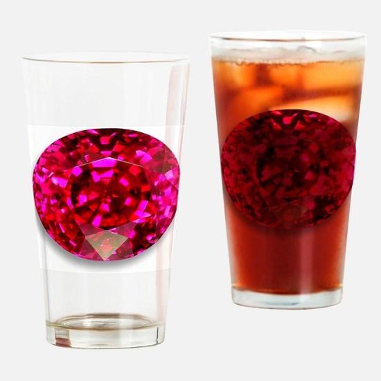 Ruby Drinking Glass