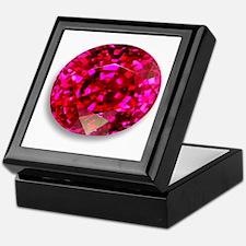 Ruby Keepsake Box