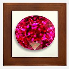 Ruby Framed Tile