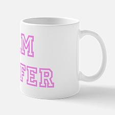 Pink team Jennifer Mug
