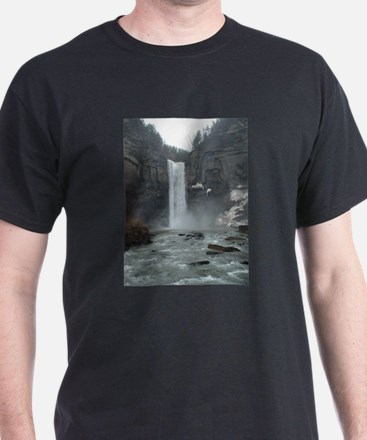 Taughannock Falls in the early spring T-Shirt