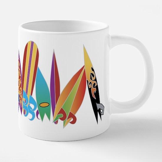 surfboard band Mugs