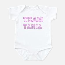 Pink team Tania Infant Bodysuit