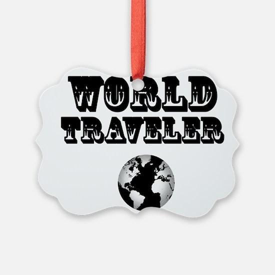 World Traveler Ornament