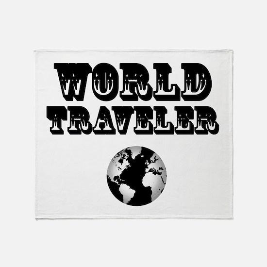 World Traveler Throw Blanket