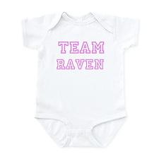 Pink team Raven Infant Bodysuit