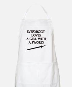 Girl With a Sword Apron