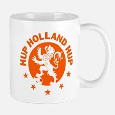 Hup Holland Hup Orange Dutch Football Lion Mugs