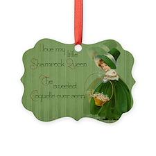 Shamrock Queen Ornament