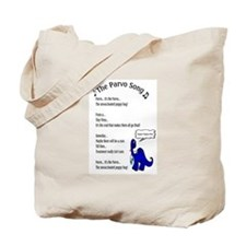 The Parvo Song Tote Bag