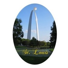 St. Louis Ornament (Oval)