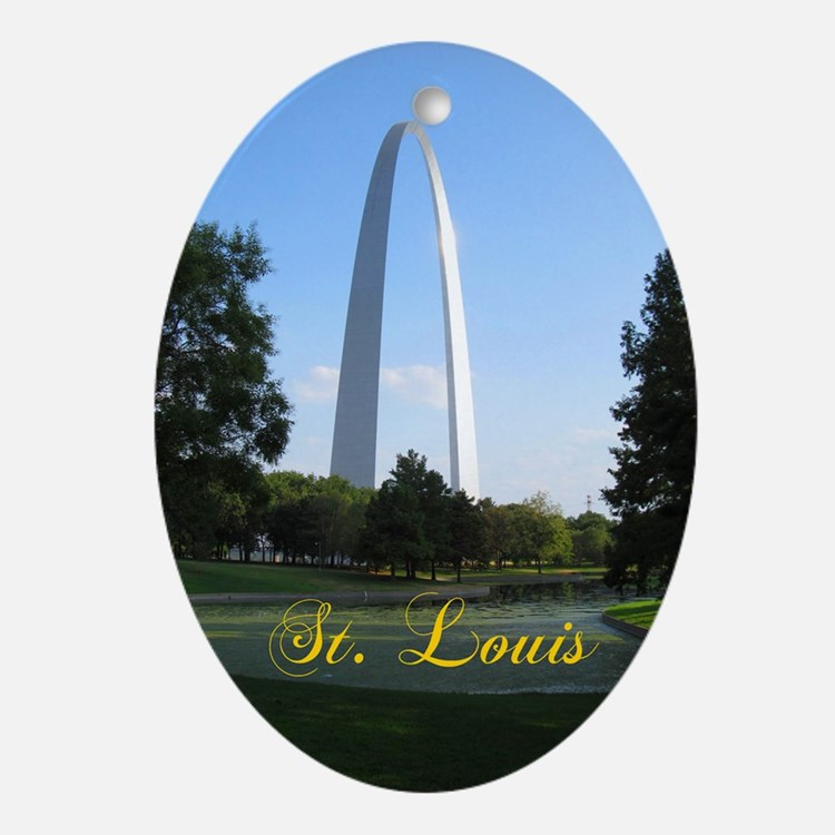 St. Louis Ornament (Oval)