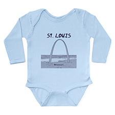 St. Louis Long Sleeve Infant Bodysuit