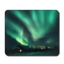 Aurora borealis - Mousepad
