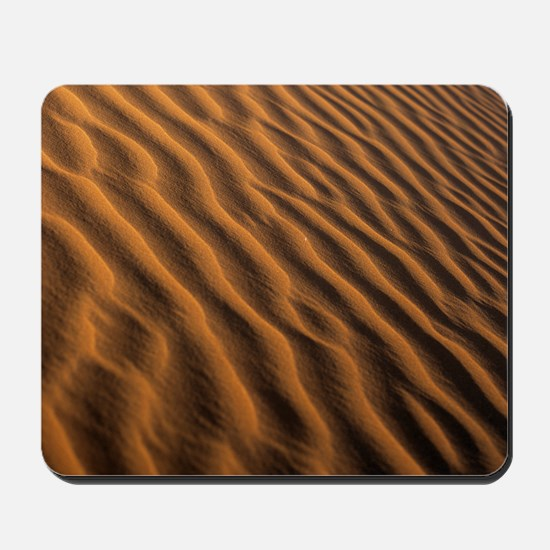 Ripples in a sand dune - Mousepad
