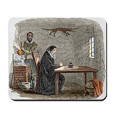 John Dee and Edward Kelly - Mousepad