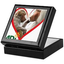 Tilin and Tina Valentine Keepsake Box