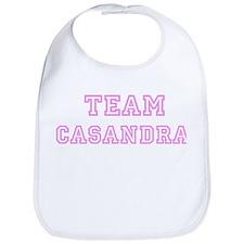 Pink team Casandra Bib