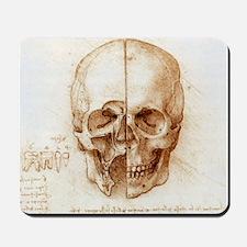 Skull anatomy by Leonardo da Vinci - Mousepad