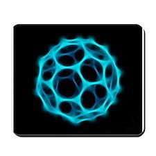 Buckminsterfullerene molecule - Mousepad