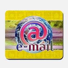 Global e-mail - Mousepad