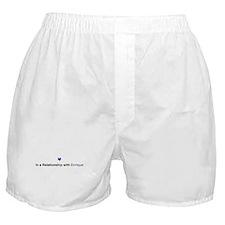 Enrique Relationship Boxer Shorts