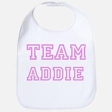 Pink team Addie Bib