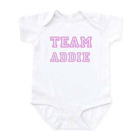 Pink team Addie Infant Bodysuit