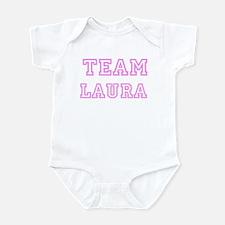 Pink team Laura Infant Bodysuit