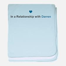 Darren Relationship baby blanket
