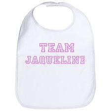 Pink team Jaqueline Bib