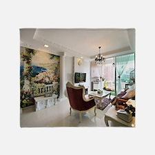 Cute Interior designs Throw Blanket
