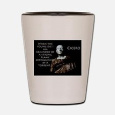 When The Young Die - Cicero Shot Glass