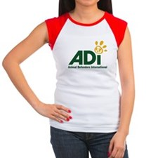 ADI logo Women's Cap Sleeve T-Shirt
