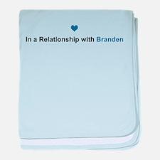 Branden Relationship baby blanket