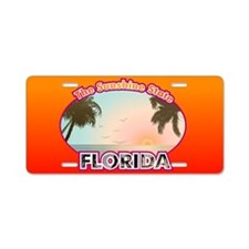 FLA Aluminum License Plate