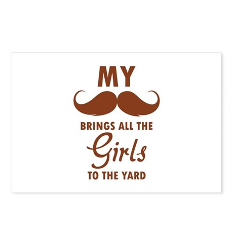My moustache brings all the girls to the yard Post