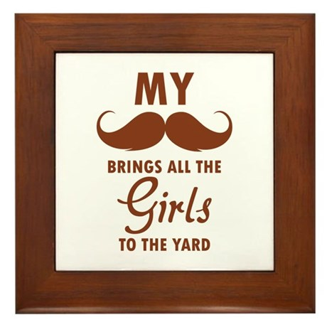 My moustache brings all the girls to the yard Fram