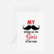 My moustache brings all the girls to the yard Gree