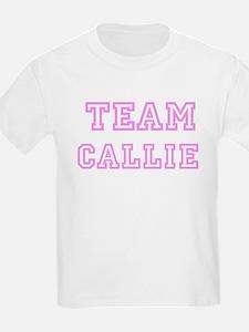 Pink team Callie Kids T-Shirt