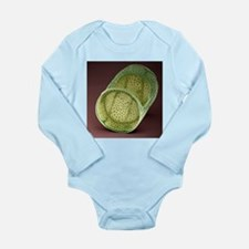 Diatom, SEM - Long Sleeve Infant Bodysuit