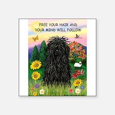 Free Your Hair.....Puli Sticker