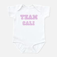 Pink team Cali Infant Bodysuit