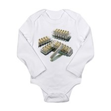 Nicotine inhalator - Long Sleeve Infant Bodysuit