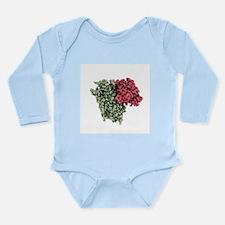Rhodopsin molecule - Long Sleeve Infant Bodysuit