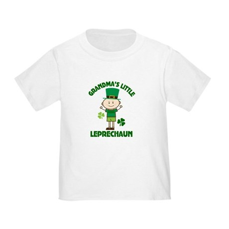 Grandma's Little Leprechaun Toddler T-Shirt